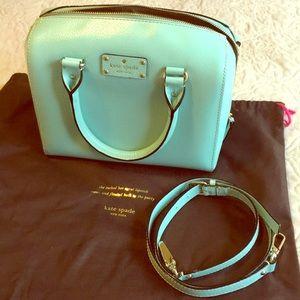 Kate Spade Tiffany blue satchel